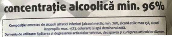 alcool 96